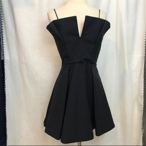 C/Meo Collective Navy cocktail dress NWT